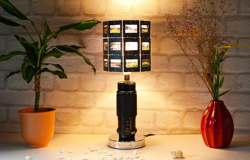 vintage lamp cam